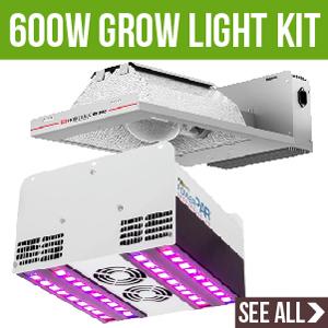 600 Watt Grow Light Kits