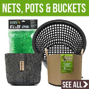 Net Pots and Buckets