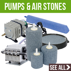Pumps and Air Stones